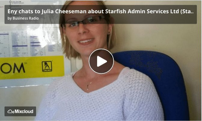 Julia Cheeseman Starfish Admin Services