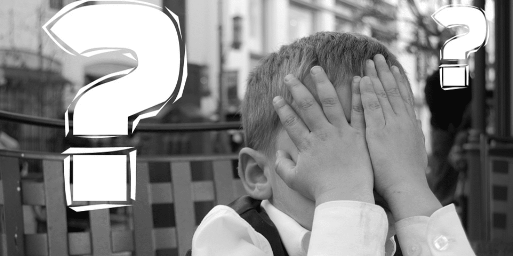 Embarassed Child covering face- 7 Common LinkedIn mistakes blog - https://globaldotmedia.com