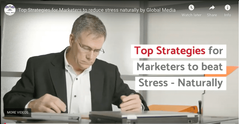 Top Strategies For Marketers To Reduce Stress - Naturally