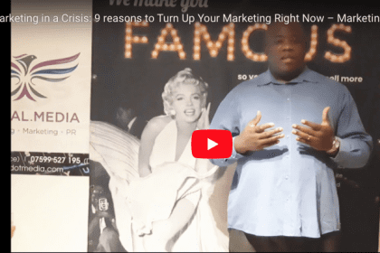 Marketing in a crisis Eny Osung video blog cover photo